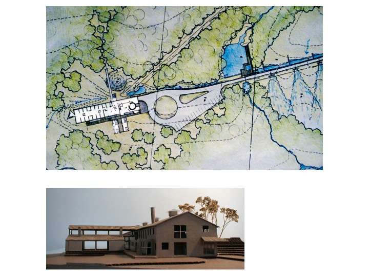 Watershed Site Plan and model